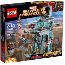 LEGO Super Heroes 76038 Attack on Avengers Tower Нападение на башню Мстителей