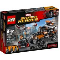 LEGO Super Heroes 76050 Crossbones' Hazard Heist Опасное ограбление