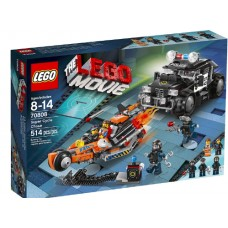 LEGO THE LEGO MOVIE 70808 Super Cycle Chase Погоня на мотоцикле