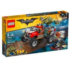 LEGO The LEGO Batman Movie 70907 Killer Croc Tail-Gator Хвостовоз Убийцы Крока