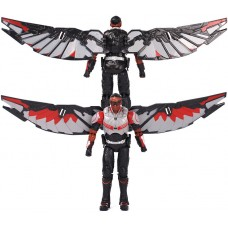 Игровая Коллекционная Фигурка Сокол Марвел Мстители со съемными крыльями, высота 18 см - Falcon, Avengers Marvel