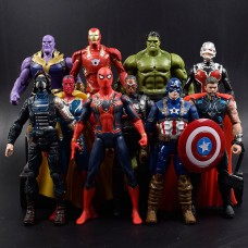 """Набор Фигурок из к/ф """"Мстители: Война бесконечности"""",Avengers, Infinity War, 10в1, 17СМ"""