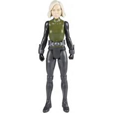 Игровая фигурка Чёрная Вдова, Мстители Марвел, высота 30 см - Black Widow, Marvel, Titan Hero Series Hasbro