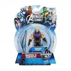 """Фигурка Соколиный Глаз """"Коллекция Героев"""" - Hawk Eye, Avengers, Assemble, Hasbro, 9.5CM"""