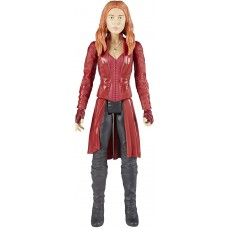 Игровая фигурка Алая Ведьма Мстители Марвел, высота 30 см - Scarlet Witch, Marvel, Titan Hero Series Hasbro