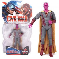 Фигурка Вижен (Марвел, Мстители), 18 см - Vision, Avengers, Marvel