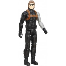 Игрушка-фигурка Hasbro, Зимний Солдат, Марвел, 30 см - Winter Soldier, Marvel, Titan Hero Series