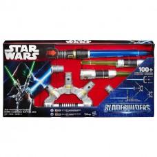 Электронный меч Мастера-джедая более 100 вариантов сборки (звук, свет) - Master Jedi, Star Wars, BB, Hasbro