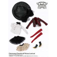 Комплект Одежды Титикака: модный наряд с тюлевой юбкой для кукол Пуллип 31 см - Pullip outfit Titicaca Look Set