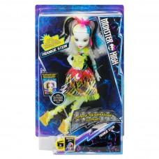 Кукла Монстер Хай Френки Штейн Высокое напряжение со светящимся питомцем - Monster High Electrified High Voltage