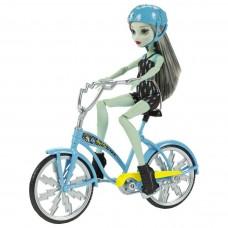 Кукла монстер хай Френки штейн на велосипеде Monster High Boltin' Bicycle Frankie Stein Doll