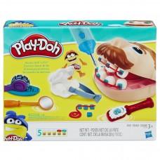 Детский Игровой Набор Мистер Зубастик 3 разных пластилина с аксессуарами Плей До Play Doh Doctor Drill N Fill 45372-04 ga-728740246