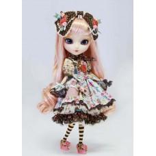 Кукла Коллекционная шарнирная Пуллип Алиса с кроликом, аксессуарами и подставкой, 31 см - Pullip Alice du Jardin