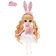 Кукла шарнирная Пуллип Бонни Кроличья вечеринка с аксессуарами, плюшевым зайцем, подставкой 31см - Pullip Bonnie