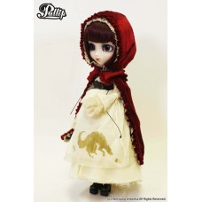 Кукла Коллекционная шарнирная Пуллип Красная Шапочка с аксессуарами и подставкой, 31 см - Pullip Bloody Red Hood