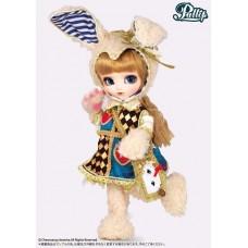 Кукла Коллекционная шарнирная Пуллип Алиса классическая Белый Кролик, 31см - Pullip Classical Alice White Rabbit