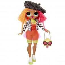 Большая Кукла ЛОЛ Леди Неон с модным гардеробом и аксессуарами, высота 28 см - LOL OMG SURPRISE! Neonlicious MGA