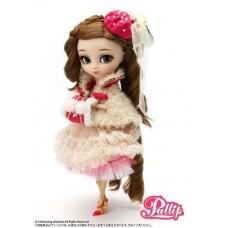 Кукла Коллекционная шарнирная Пуллип Нанетт с муфтой, сумочкой, аксессуарами, подставкой, 31 см - Pullip Nanette