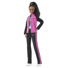 Шарнирная Кукла Барби Безграничные движения Гимнастка Габби Дуглас - Made to Move Gabby Douglas Barbie Doll