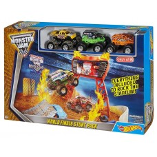 Хот вилс монстер джем трек - Hot Wheels Monster Jam World Finals Stunt Pack