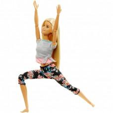 Кукла Барби Йога Блондинка (Милли) безграничные движения - Barbie Made to Move Barbie Doll Mattel