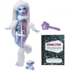 Кукла Монстер Хай Эбби Боминейбл Базовая с питомцем Monster High Abbey Bominable Basic, Mattel