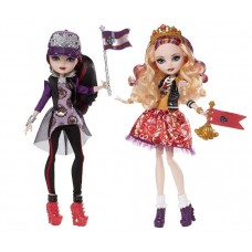 Куклы Эвер Афтер Хай Эппл и Рейвен Квин Школьный дух Ever After High School Spirit Apple White and Raven Queen
