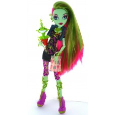 Кукла Монстер Хай Венера МакФлайтрап базовая с питомцем Monster High Venus McFlytrap Вasic
