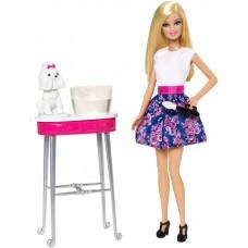 Игровой набор для девочек Гламурный салон для любимцев Куклы Барби, Раскрась меня - Barbie Color Me Cute Doll