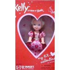 Коллекционная Кукла  для девочек Сестричка Барби Келли День Валентина 2001 года - My Little Valentine Kelly Doll