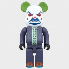 Дизайнерская Игрушка Беарбрик Кавс Bearbrick Kaws Фигурка Джокер Bearbrick 400 % (высота около 28 см)