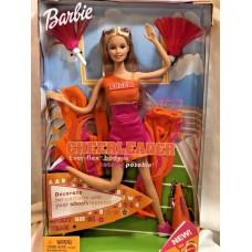 Кукольный набор игровой Кукла Барби Карьера Болельщица 2003 года Barbie Cheerleader Doll