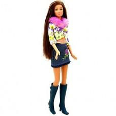 Коллекционная Кукла Барби Кайла Брюнетка с розой в волосах 2003 года - Barbie Really Rosy Kayla Doll