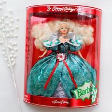 Коллекционная Кукла Барби Праздничная Счастливого Рождества 1995 года - Happy Holidays Barbie Doll
