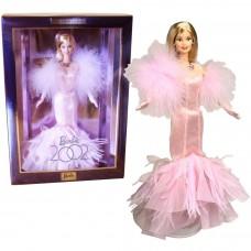 Коллекционная Кукла Барби Юбилей 2002 года в пышном розовом платье, перчатки, ожерелье - Barbie 2002 Collector
