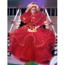 Коллекционная Игровая Кукла Барби Холидей Праздничная 1993 года Barbie Happy Holidays