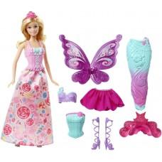 Кукла Барби Фея Русалка Дримтопия Сказочное превращение Barbie Dreamtopia Fairytale Dress Up