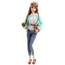 Игровая Кукла Барби коллекция Стиль Мидж с медовыми волосами, шарнирная более 100 поз - Barbie Style Midge