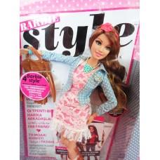 Игровая Кукла Барби для девочек Тереза коллекция Стиль коричневые волосы укорененные ресницы - Barbie Style Doll