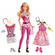 Кукла Барби модница с гардеробом серия Мода 2012 года, Barbie Doll