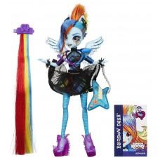 Кукла Рейнбоу Дэш Стильные прически Стиль Рок - My Little Pony Equestria Girls Rainbow Rocks Rainbow Dash Hasbro