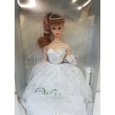 Коллекционная Свадебная Кукла Барби Невеста с букетом цветов, фатой и подставкой 1996 года - Barbie Wedding Doll