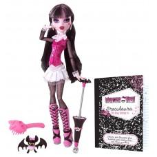 Кукла Монстер Хай Дракулаура базовая с питомцем. зонтиком и другими аксессуарами Monster High Draculaura Basic