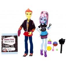 Кукольный набор Монстер Хай Monster High Abbey Bominable and Heath Burns Хит и Эбби