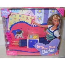 Коллекционная Кукла Барби Друг по переписке 90-х годов, с 3 открытками и стикерами - Your Pen Pal Barbie Doll