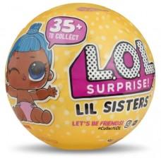 Игровой набор Кукла-сестричка (братик) ЛОЛ Сюрприз с 5 аксессуарами (3 сезон, 2 волна) - LOL Surprise Lil Sister