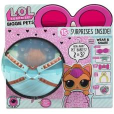 Игровой набор Большой Питомец ЛОЛ Неон Китти с аксессуарами и питомцами - LOL Surprise Biggie Pet - Neon Kitty