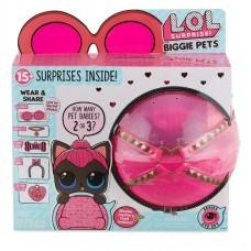 Игровой набор Большой Питомец ЛОЛ Кошечка Перчинка с 15 аксессуарами - LOL Surprise Biggie Pet - Spicy Kitty