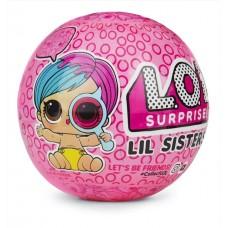 Игровой набор Кукла-сестричка ЛОЛ Сюрприз с аксессуарами 4 серия Шпионы - LOL Surprise! Lil Sisters Eye Spy