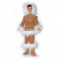 Коллекционная Кукла Барби Куклы Мира Арктика Брюнетка 1997 года - Arctic Barbie - Dolls of the World Collection